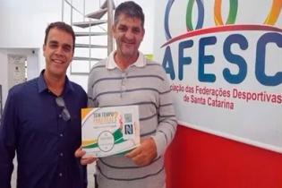 Convênio AFESC X Coopersorte rende recursos para as federações