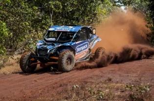 Prova foi válida pelo Campeonato Brasileiro de Rally Cross Country